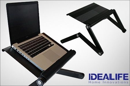 Smart And Effective Only Rs 1199 For An Aluminium Zigzag Laptop Table Free Delivery Cod Available