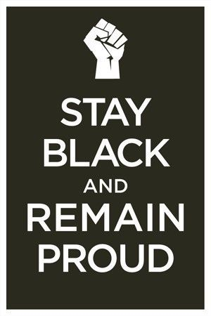 Wwii Era Poster Stay Black And Remain Lovely Keep Calm Calm It