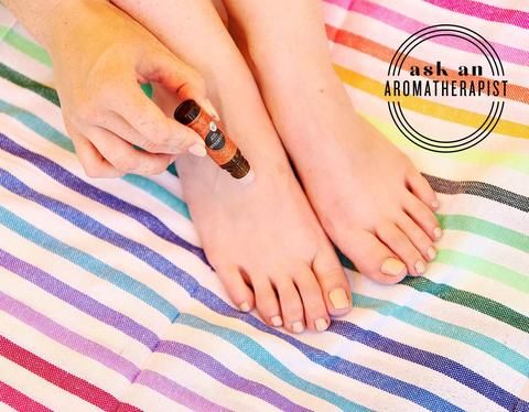 AAA Is Applying Essential Oils to My Feet Effective
