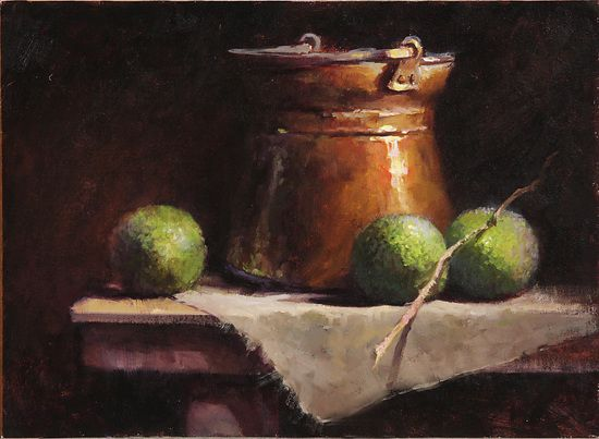 Horseapples by Kathy Tate Oil ~ 12 x 16