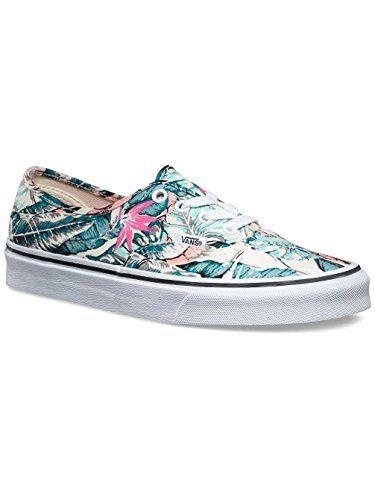 bf6e8a5fec67 Vans Unisex Authentic Tropical Skate Shoes-Tropical Multi TrueWhite-7.5-Women 6-Men    Read more at the image link.