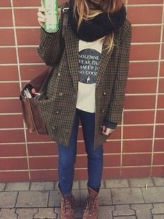 9bf6126224f9d hipster girl winter fashion - Google Search | 스타일 | Fashion ...