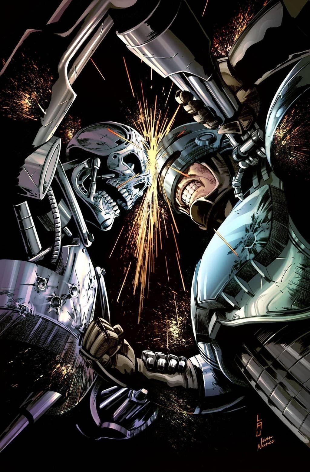Robocop Vs Terminator Terminator Robocop Terminator Movies