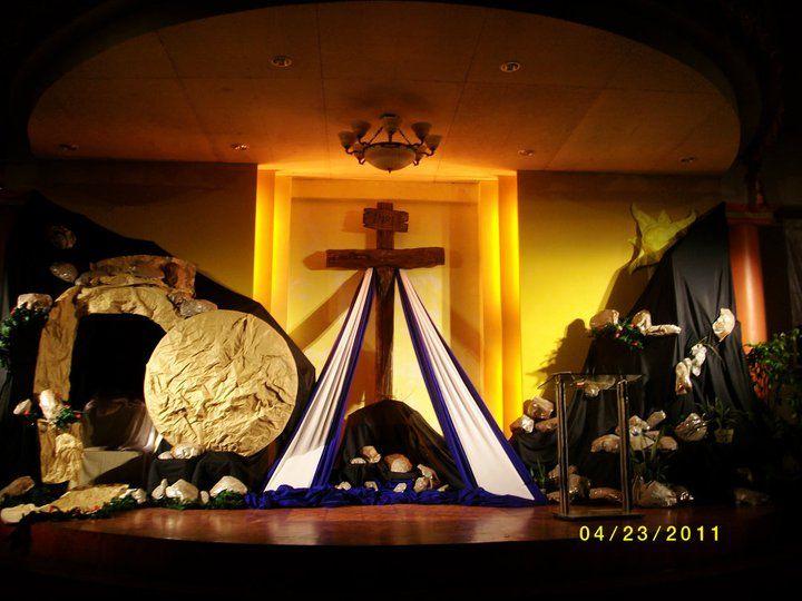 Decoracion emblematica para celebrar la resurrecion obra for Decoracion de pascua