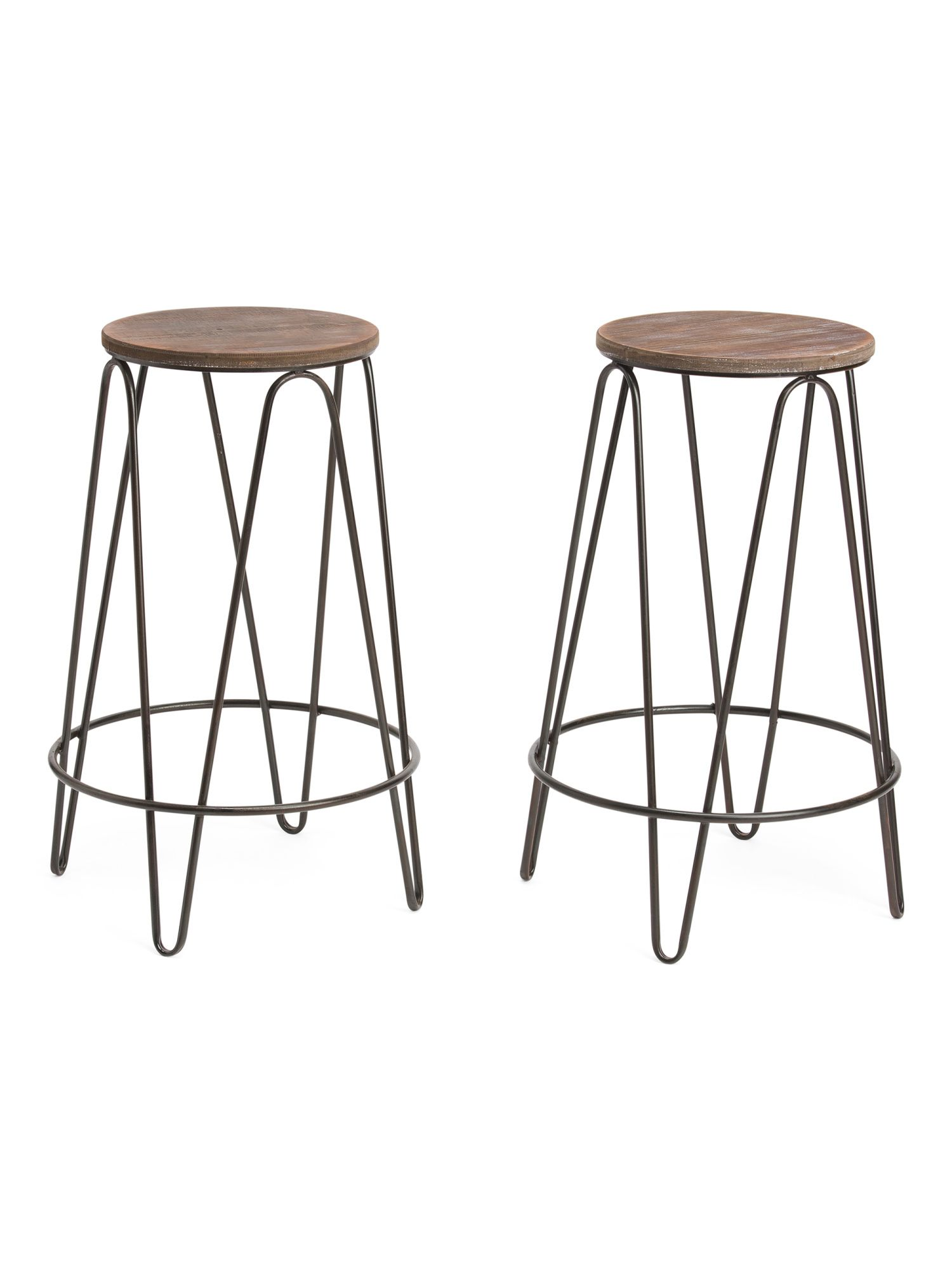 Sets Of 2 Round Bar Stools Round Bar Stools Bar Stools Cool Bar Stools