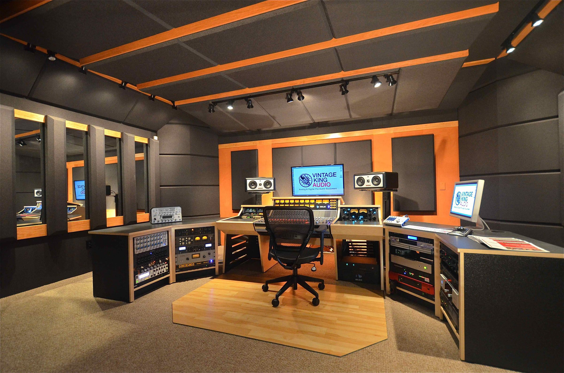 designing a sound recording studio google search