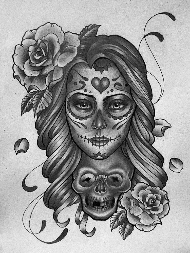 La Catrina Tattoo Bedeutung Und Coole Ideen