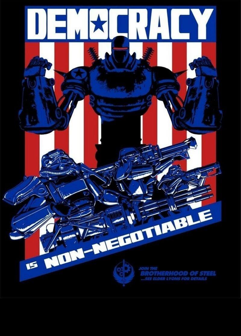 Liberty Prime Democracy is NonNegotiable. Happy 4th