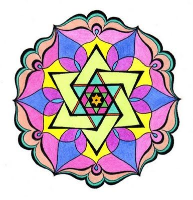 star of david mandala oodles of doodles and more rh pinterest com Star of David Holocaust White Star Clip Art