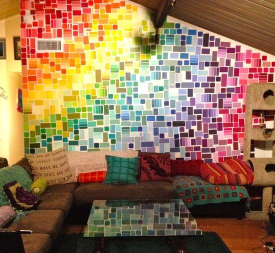 Best 25+ Rainbow Wall Ideas On Pinterest