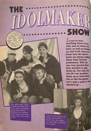 Pin By My So Called Whatever 80 S 90 On Dance Party Usa New Kids On The Block Dance Dance Party