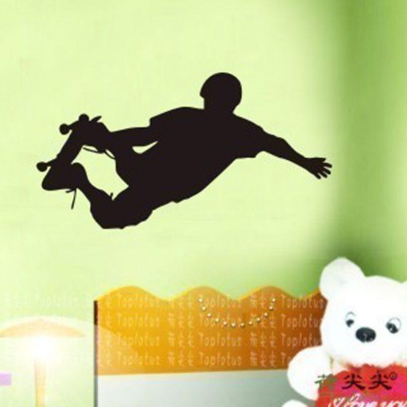 Skateboard Kid Vinyl Wall Decal | Products | Pinterest | Skateboard ...