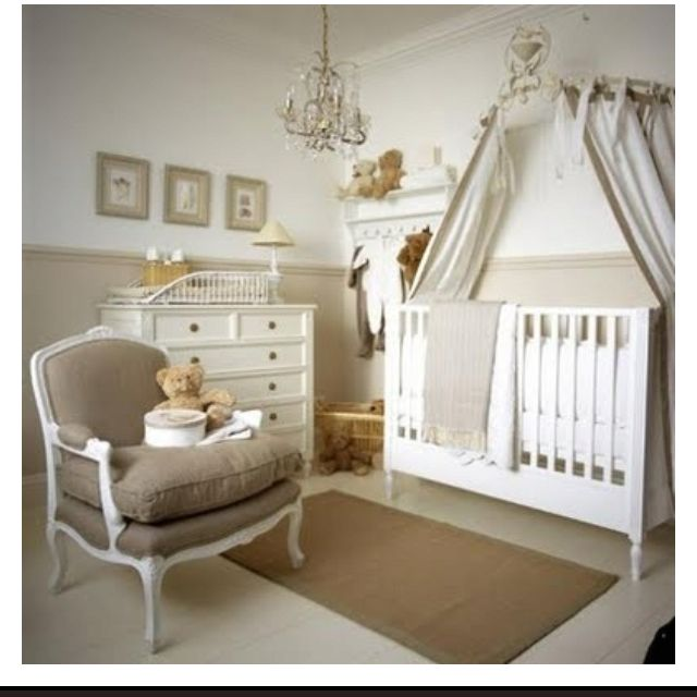 Babys Room I Like This Very Neutral Chambre Bebe Beige Deco