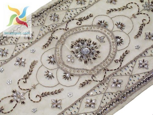 Amazing Beautiful Table Runner Organza Embroidered