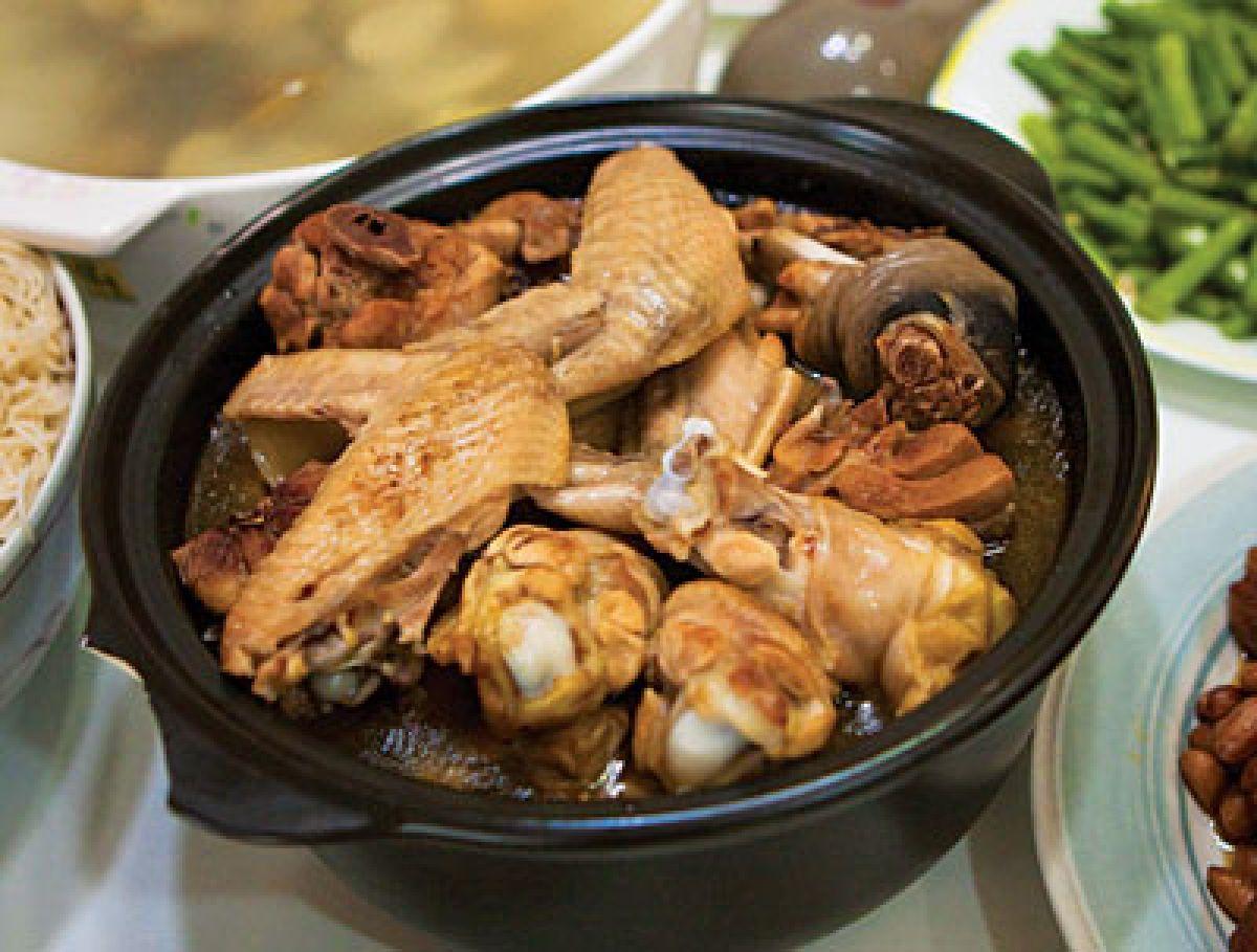 Sesame Oil Chicken (Ma You Ji) Food, Yummy asian food