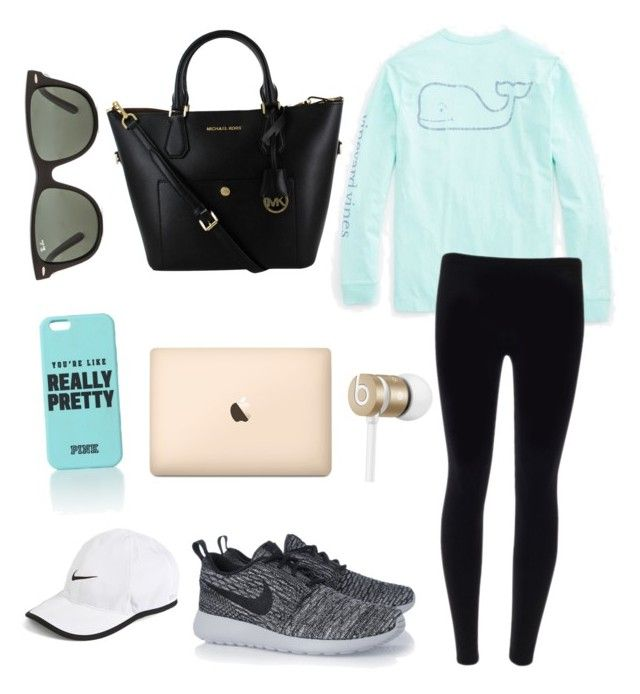 Roadtrip by urbanbella on Polyvore featuring polyvore, fashion, style, Vineyard Vines, NIKE, Ray-Ban and Beats by Dr. Dre
