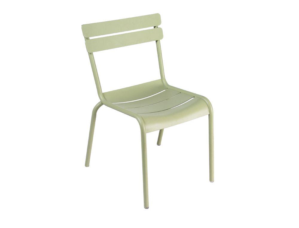 Mobilier Luxembourg Chaise De Jardin Couleur Tilleul Design Frdric Sofia