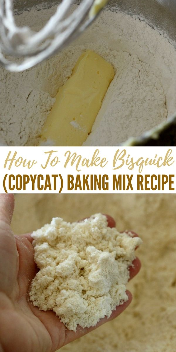How To Make Bisquick (copycat) Baking Mix Recipe - Bisquick can cost a pretty penny at the store and if you look at the ingredients there are additives and preservatives.