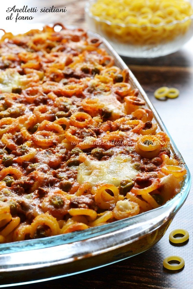 Photo of Baked Sicilian Anelletti-A Sicilian in the kitchen