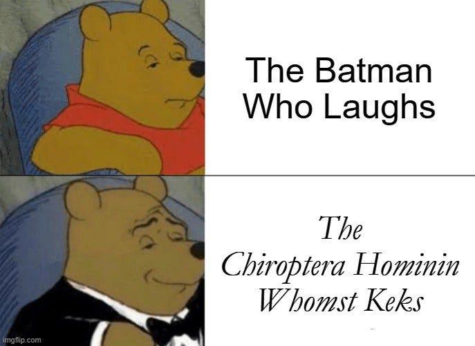 When DC's villain fanbase becomes men of culture