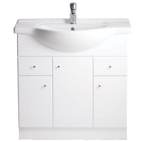 New Polo 660 Ceramic Basin And Vanity Unit