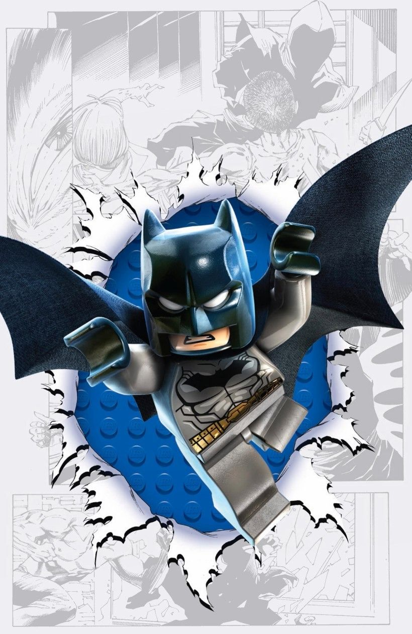 DC Comics LEGO Variant Covers – Detective Comics No. 36 & Green Lantern No. 36 See all of them here.