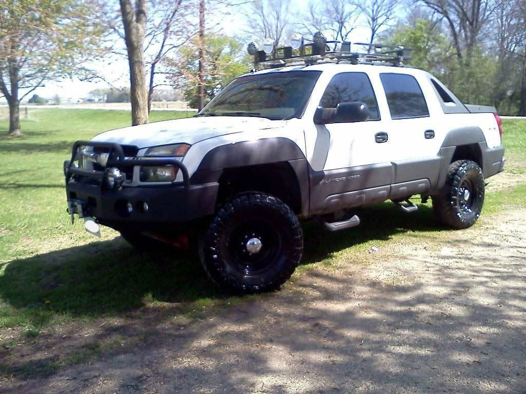 My 2005 avalanche 2500 great white