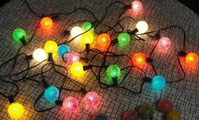 Authentic Vintage Christmas Tree Lights Classic Toys (and memories