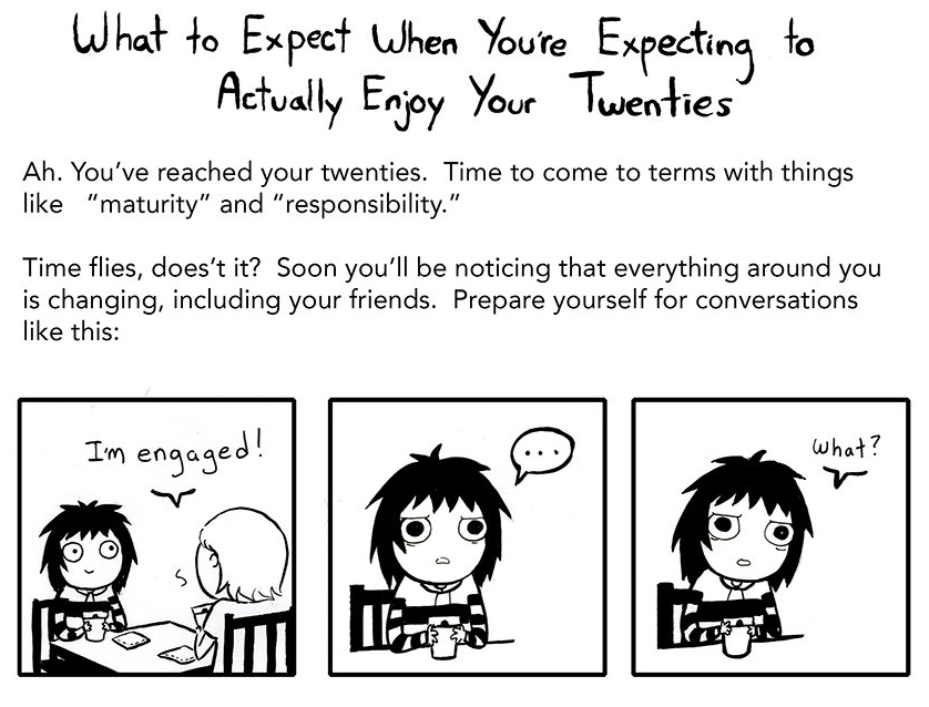 THE HOMEMADE HUMOUR: What To Expect When You Reach Your Twenties