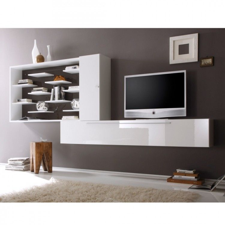 wohnwand coloret wei anthrazit hochglanz 780 euro house pinterest wohnwand modern. Black Bedroom Furniture Sets. Home Design Ideas