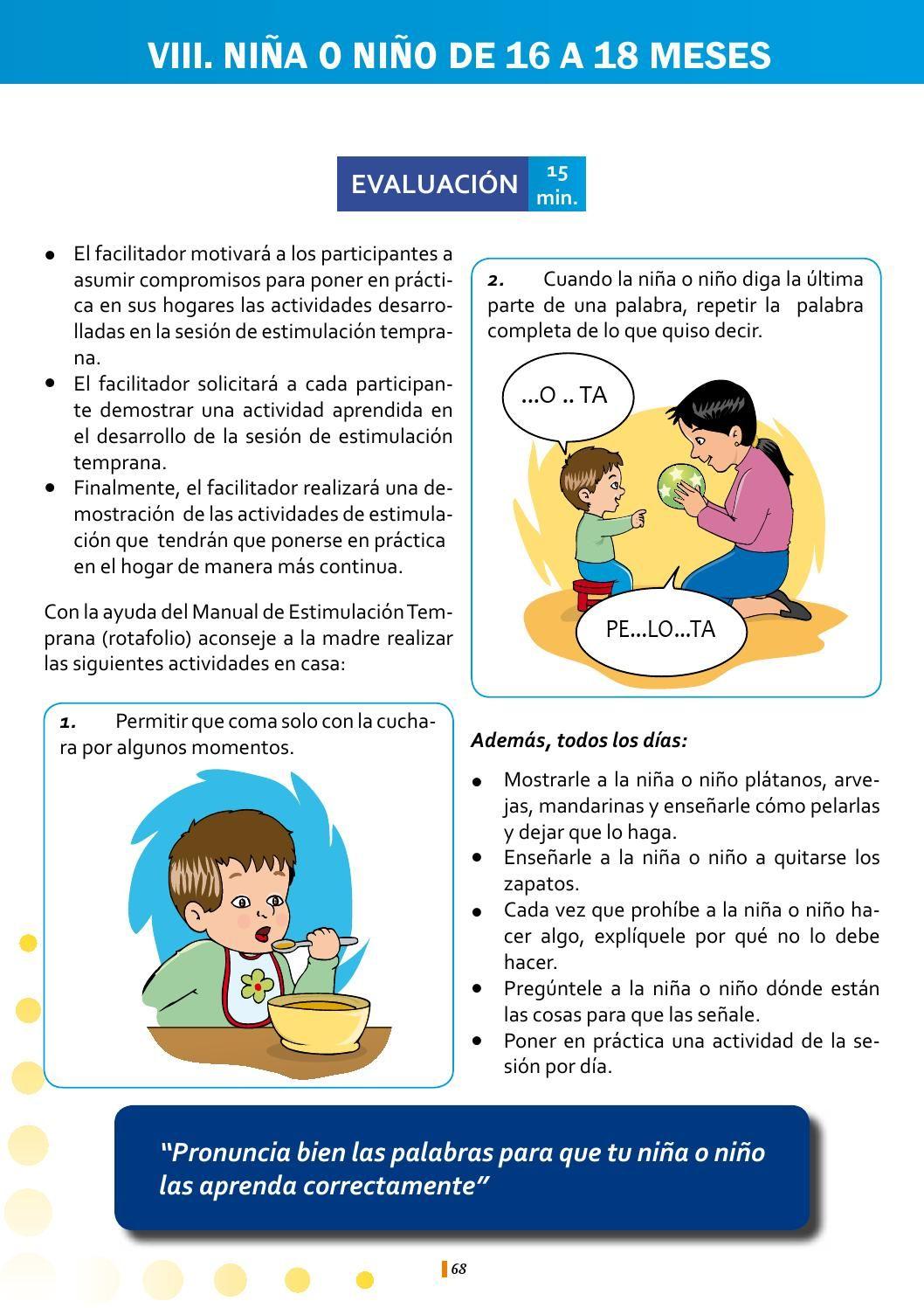Libro Blanco Estimulación Temprana Ejercicios De Estimulacion Temprana Estimulacion