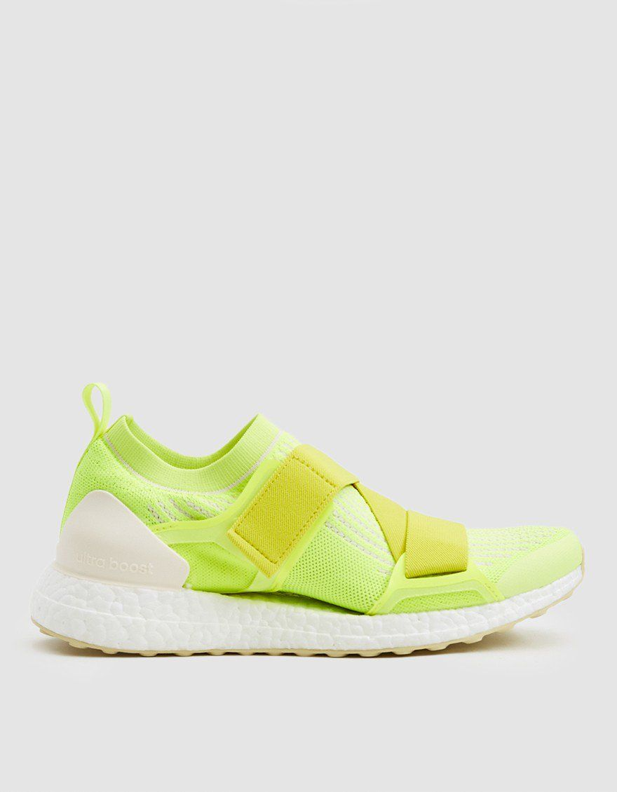 74a106924 Adidas by Stella McCartney   UltraBOOST X Double Strap in Solar Yellow   affiliate