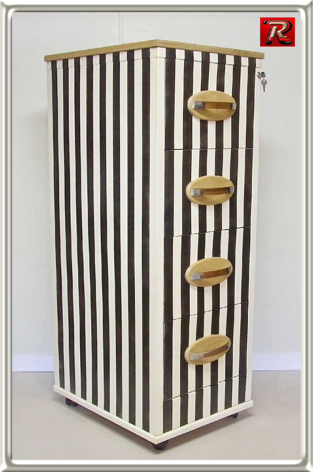 Upcycled Old Filing Cabinet By Rick Rubens Recreations