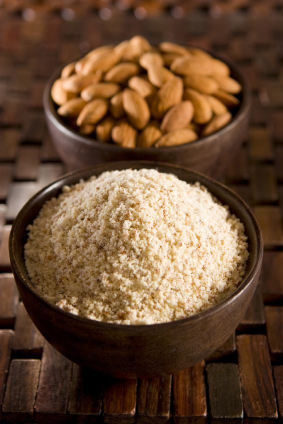 How to substitute almond flour for coconut and tapioca flour