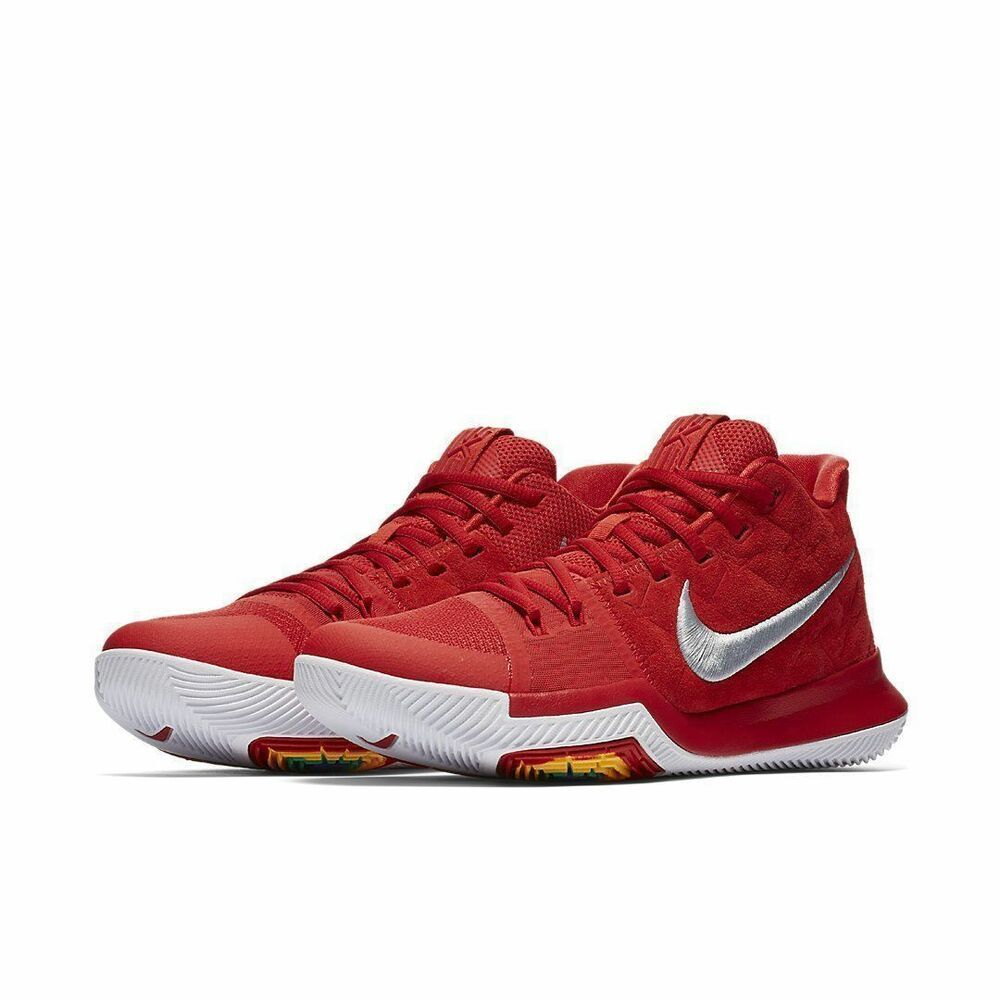 aa79d6010875 Nike Kyrie 3 Mens Basketball Shoes 10 University Red  Nike  BasketballShoes