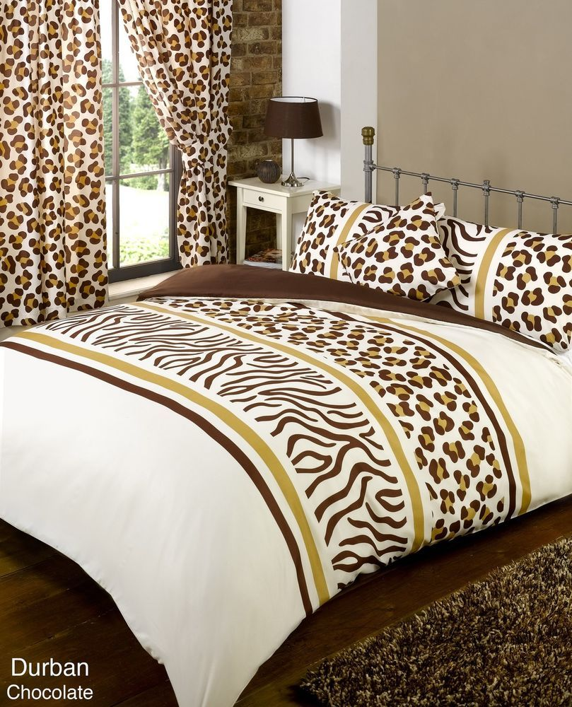 Bumper Duvet Set With Matching Curtains, Tie Backs