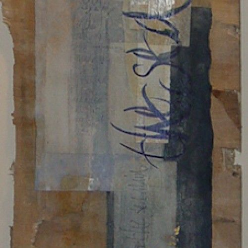 Kalligrafie . Birgit Nass - COLLAGE