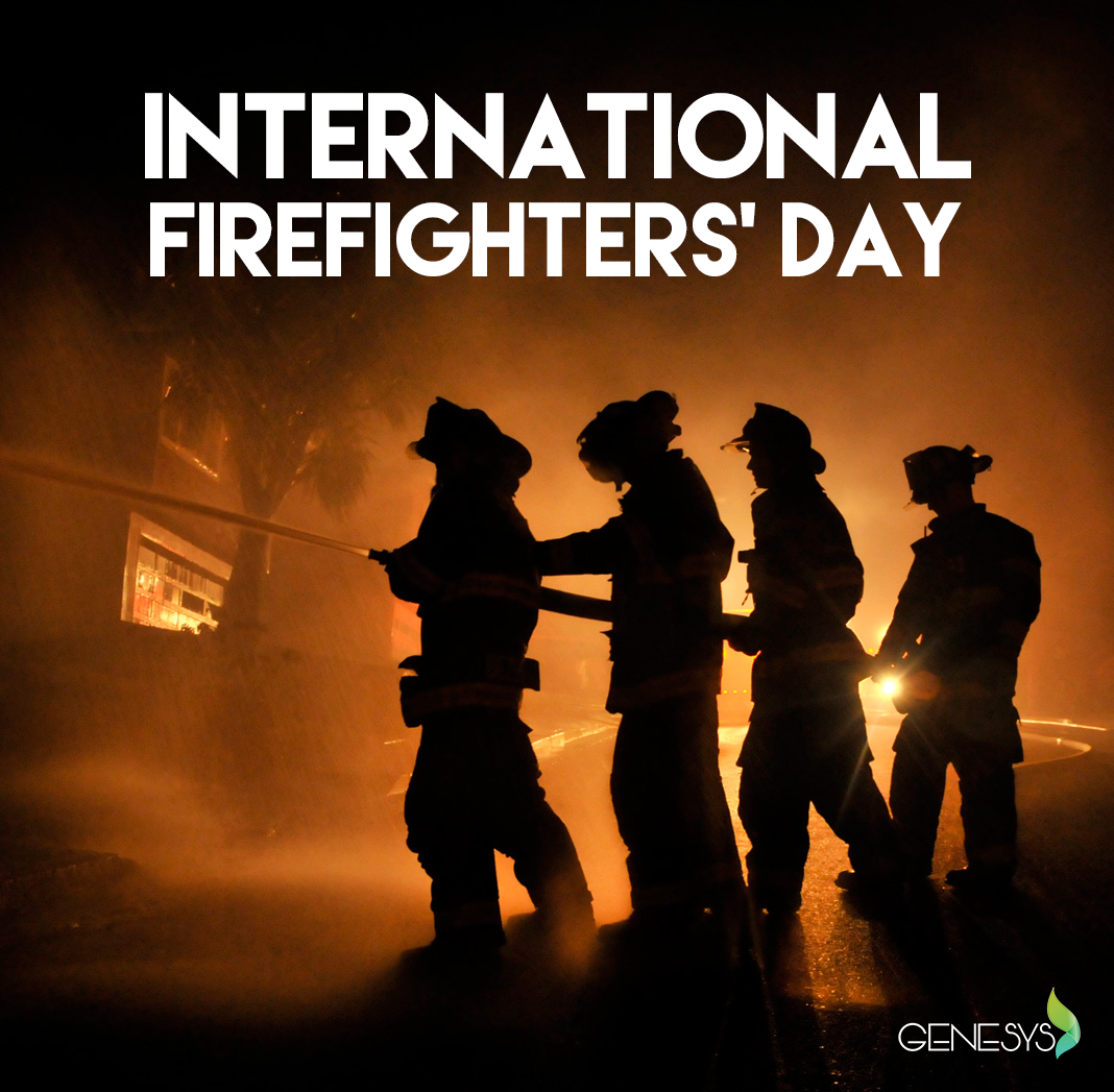May The 4th Be With You Logo: International Fire Fighters' Day, May 4, Is A Day To Thank