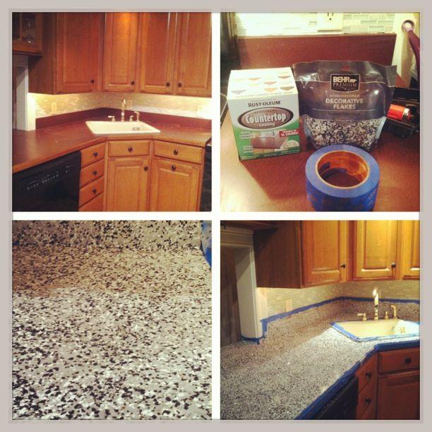 countertop paint bathroom countertops rust oleum countertop countertop ...