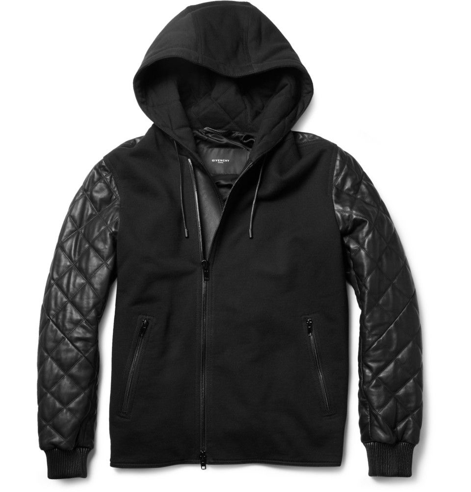 Veste cuir givenchy homme