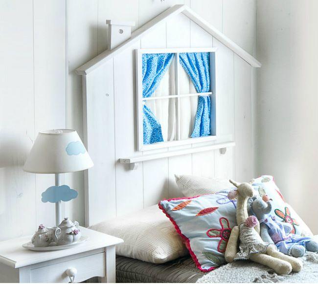 Cabeceros infantiles con encanto Habitaciones infantiles