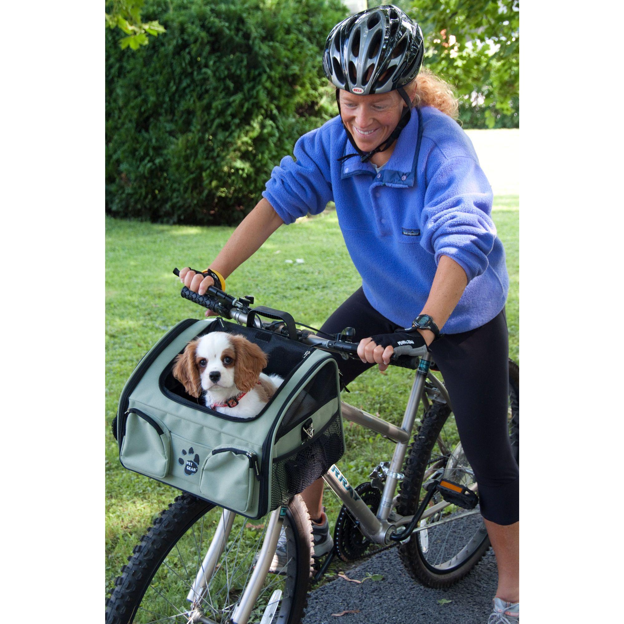 Pet Gear Bike Basket 3 In 1 Pet Carrier In Sage 53 99 For My
