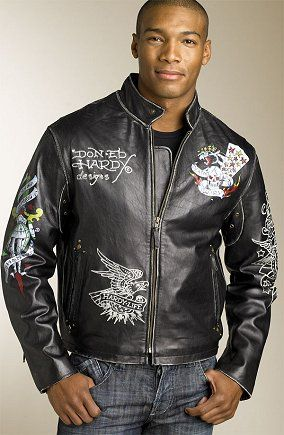 AllSaints Unique Embroidered Hippie Limited Edition Motorcycle Jacket ...