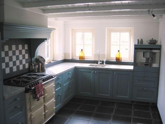 Landelijke strakke keukens google zoeken keuken pinterest keuken keukens en zoeken - Idee deco keuken grijs ...