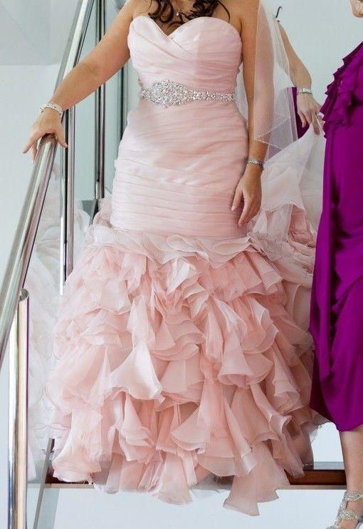 Used wedding dress size 16