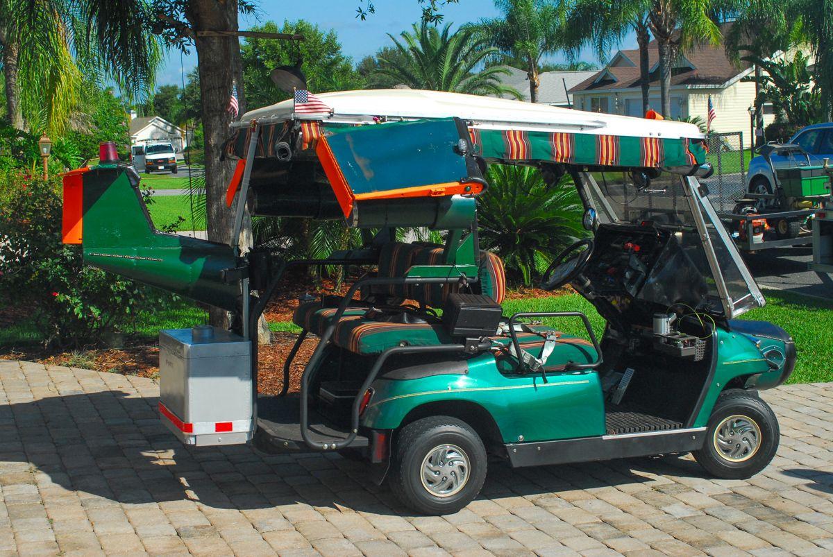 Secret CIA Spy Plane Flies Undercover as a Golf Cart