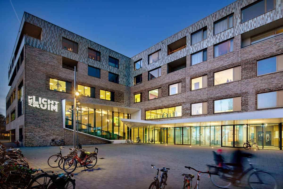 Cultural Educational Centre 'Het Lichtruim' by GROUP A
