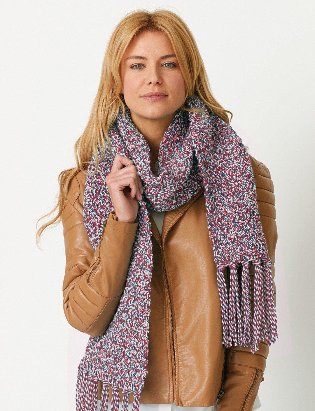 Crochet Scarf Patterns that Look like Knit