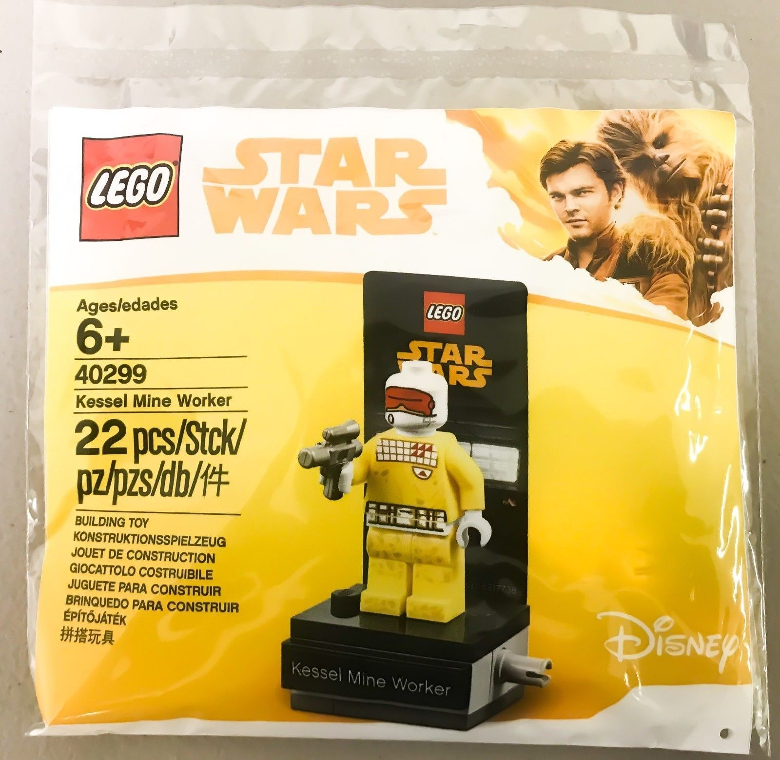 LEGO 40299 Star Wars Kessel Mine Worker Poly Bag