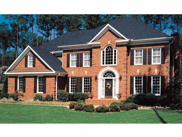 Adam Federal House Plan with 3202 Square Feet and 4 Bedroomss